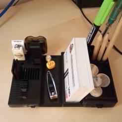 Télécharger fichier STL Organisateur de table avec tiroirs, alishanmao