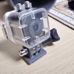 Télécharger modèle 3D SQ12 Base de servo panoramique pour caméra HD Mini, alishanmao