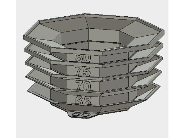 5ebadfd6dd06e7bc930f1e8ce432d24d_preview_featured-1.jpg Download free STL file Cooling test - Overhang test • 3D print template, printingotb
