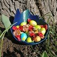 Download 3D print files Dragon egg shell bowl for Easter candy or dice, printingotb