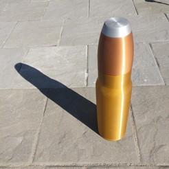 Télécharger fichier STL gratuit Énorme vase à balles - Cadeau du chasseur • Plan pour imprimante 3D, printingotb