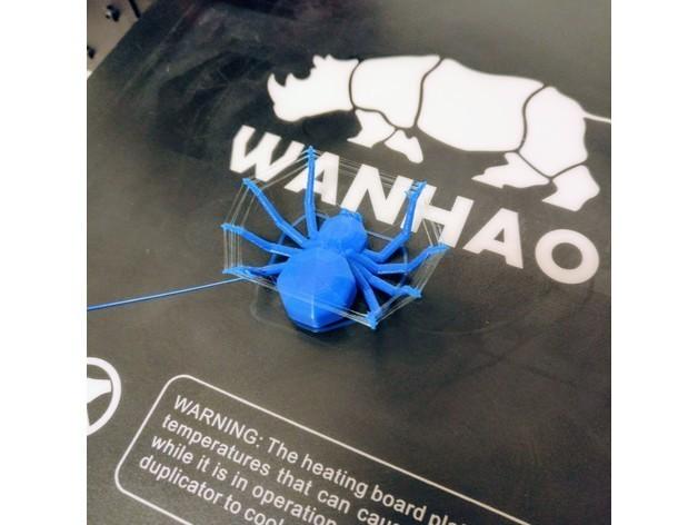 4b84e9ef327807d2b5bbd2eab54df553_preview_featured.jpg Download free STL file Torture Spider, 3D-printer torture test - overhangs - cooling - retraction • 3D printing design, printingotb