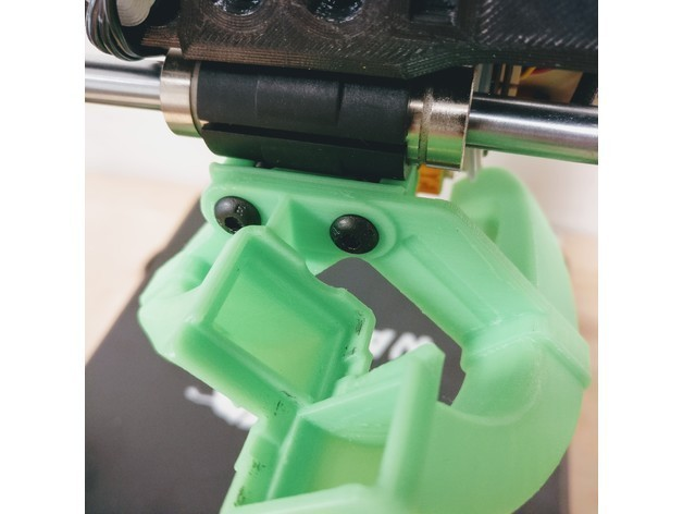 """c4c25057b6c77514d5e93da04635755a_preview_featured.jpg Download free STL file The """"OptiCooler"""" part cooling solution for Wanhao Di3 • 3D printer model, printingotb"""
