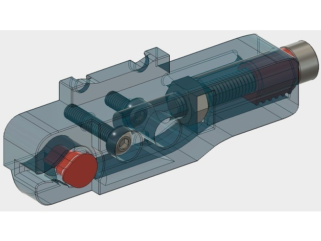 5ebadfd6dd06e7bc930f1e8ce432d24d_preview_featured.jpg Download free STL file X-axis Tensioner for Wanhao Di3 • 3D printer design, printingotb