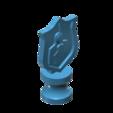 trofeo2.png Download STL file Fencing trophy - Trofeo de esgrima • Design to 3D print, Chango