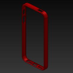 Download 3D printing templates Iphone 5 - 5S Bumper, ArcStudio