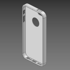 3D printing model Iphone 5 - 5S Basic Case, ArcStudio