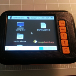 Free STL file Case for Beaglebone and LCD panel, JamieLaing