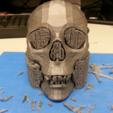 Free 3D printer file Human Skull, JamieLaing