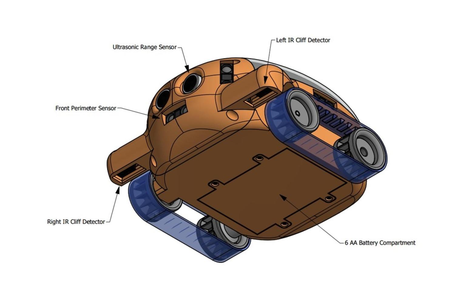 Capture d'écran 2017-07-26 à 13.55.59.png Download free STL file Simula 5 Robot Developers Kit • 3D printable model, JamieLaing