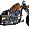 Download free STL file Harley Davidson • Design to 3D print, Guillaume_975