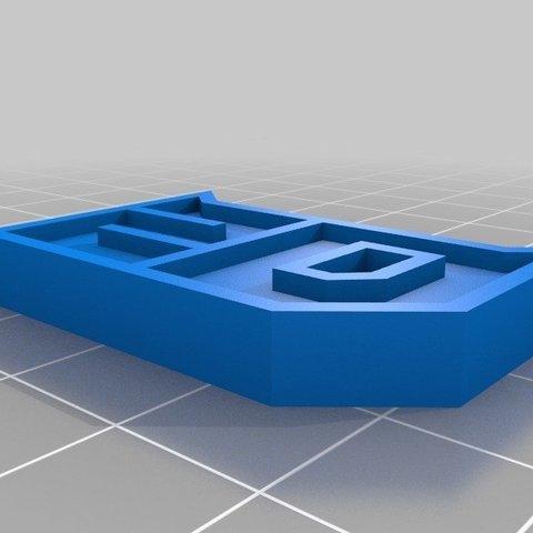 Free 3D printer designs Quartararo race number / numéro de course de Quartararo, Guillaume_975