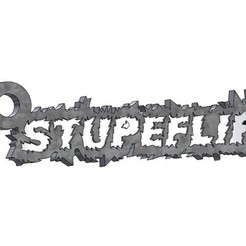 Free STL file Stupeflip key ring, Guillaume_975