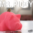 Free stl file MR. PIGGY, 3DShook