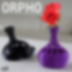 base-orpho-logo.stl Download free STL file ORPHO A • Design to 3D print, 3DShook