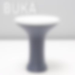 Free BUKA DRUM A 3D model, 3DShook