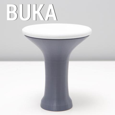 Free 3D printer files BUKA DRUM A, 3DShook