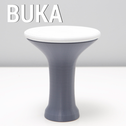 Free BUKA DRUM A 3D model, 3DShook