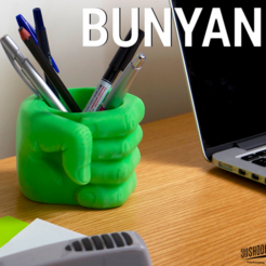 Free STL file Bunyan, 3DShook