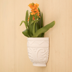 Free 3D file BARON WALL POT, 3DShook