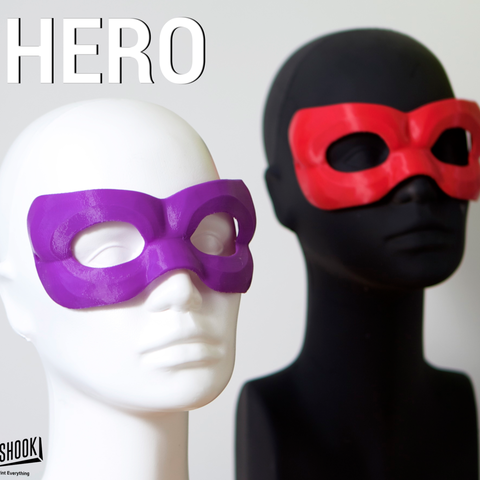 Download free 3D model MASQUERADE HERO, 3DShook