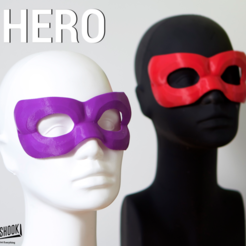 Free 3D printer file MASQUERADE HERO, 3DShook