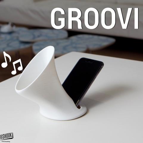 objet 3d gratuit GROOVI, 3DShook