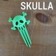 Download free 3D printing files SKULLA, 3DShook