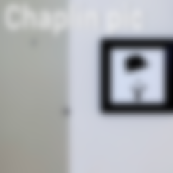 Free stl files Chaplin Pic, 3DShook