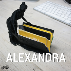 Download free STL file Alexandra • 3D printing template, 3DShook