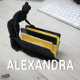 Download free 3D printer model Alexandra, 3DShook