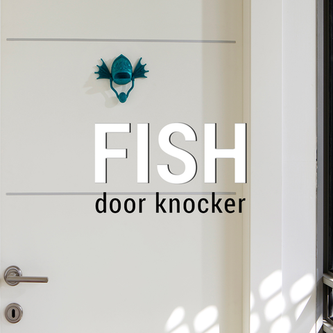 Free 3d printer designs Fish Knocker, 3DShook