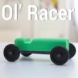 Download free 3D printer designs OL' RACER, 3DShook