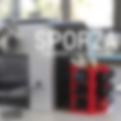 Free 3d printer designs Sporza, 3DShook