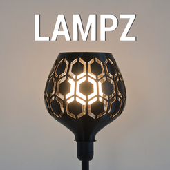 Download free 3D printer designs LAMPZ – HIVE, 3DShook