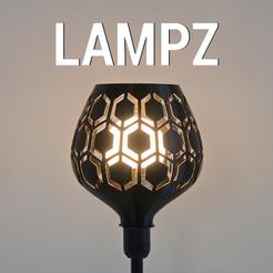 Free STL file LAMPZ – HIVE, 3DShook