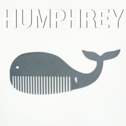 Download free 3D printing designs HUMPHREY COMB , 3DShook