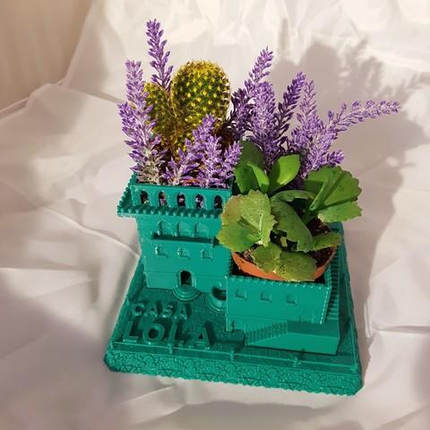 Free Mini Middle Eastern Villas Planter (3-in-1) STL file, Terra3D