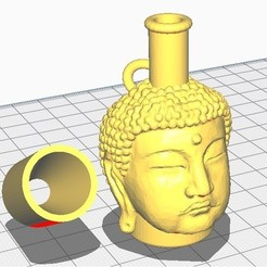 buddha.jpg Download STL file buddha mouthpiece • 3D printable model, abg111
