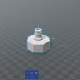 Wasserrakete.PNG Télécharger fichier STL gratuit Adaptateur Wasserraketen • Plan imprimable en 3D, Simon15