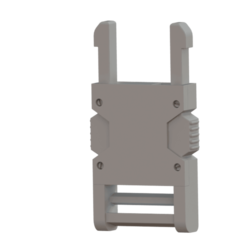 Free STL Universal Buckle (male head), mahsali