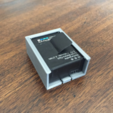 Download free STL file Go Pro Hero 3+ Battery Case • 3D print template, JonathanK1906