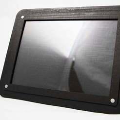 Télécharger fichier imprimante 3D gratuit Cadre photo - Découpe laser, JonathanK1906