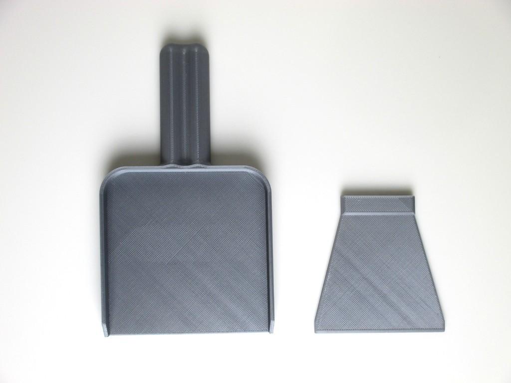 7bcd06807ecb617c03ebcb2a334ce5f0_display_large.jpg Download free STL file Mini Desktop Dust Pan and Scrapper • Design to 3D print, JonathanK1906