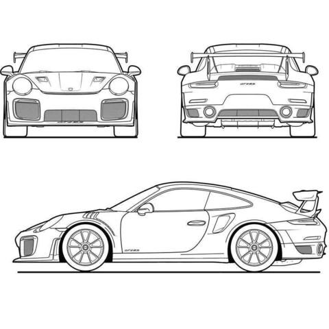 68ff50de4cd124a99fafc494146f7cea_display_large.jpg Télécharger fichier STL gratuit Porsche GT2 RS2 RS1 2017 (Découpe laser) • Objet pour impression 3D, JonathanK1906