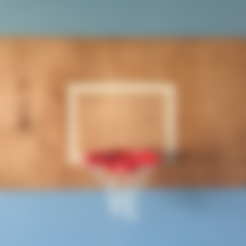 Download free STL file DIY Basketball Hoop, JonathanK1906