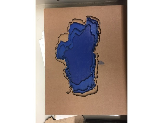60c74618a3383dad5e09784d31b5db27_preview_featured.jpg Download free STL file Laser Cut Lake Tahoe • 3D printing object, JonathanK1906