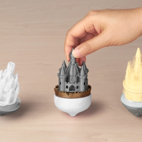 Free 3D print files Castle Spinners, JonathanK1906