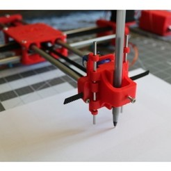 Download free 3D printer templates Heavy Duty Pen Slider, JonathanK1906
