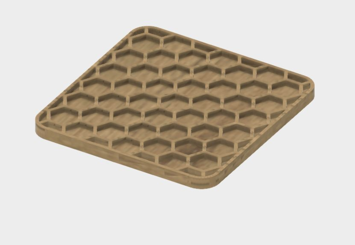 Capture d'écran 2017-10-31 à 09.24.03.png Télécharger fichier STL gratuit Coaster en nid d'abeilles • Plan à imprimer en 3D, JonathanK1906